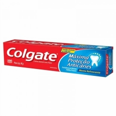 CREME DENTAL COLGATE MAX PROT ANT CAR MEN 90G