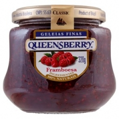 GELEIA QUEENSBERRY FRAMBOESA 320G
