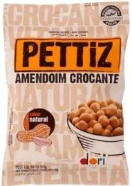AMENDOIM DORI PETTIZ NATURAL 150G