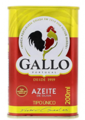 AZEITE DE OLIVA GALLO PORTUGUES LT 200ML
