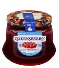GELEIA QUEENSBERRY FRAMBOESA DIET 280G