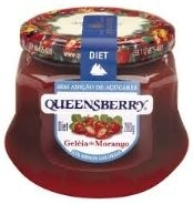 GELEIA QUEENSBERRY MORANGO DIET 280G