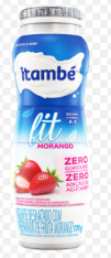 IOGURTE ITAMBE FIT LIGHT MORANGO 170G