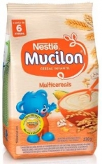 MUCILON NESTLE MULTICEREAIS 230G
