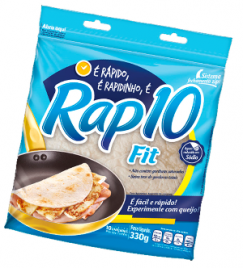 PÃO TORTILHA RAP 10 FIT 10 UN 330G