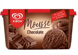 SORVETE KIBON MOUSSE DE CHOCOLATE 1,3L