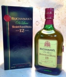 WHISKY BUCHANANS 12 YEARS 1L